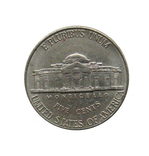 США 5 центов 2001 г. D