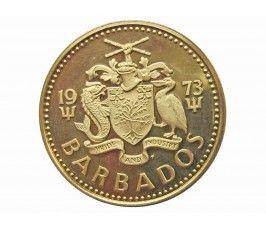 Барбадос 5 центов 1973 г. (proof)