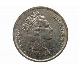 Бермудские о-ва 10 центов 1990 г.
