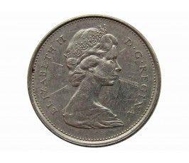 Канада 25 центов 1974 г.