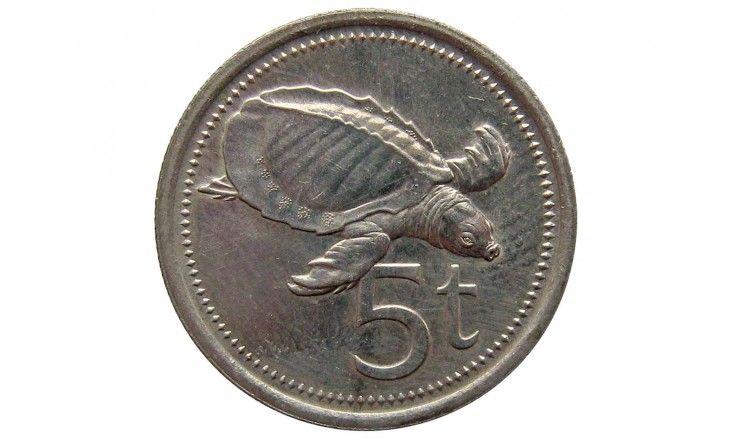 Папуа-Новая Гвинея 5 тоа 1987 г.