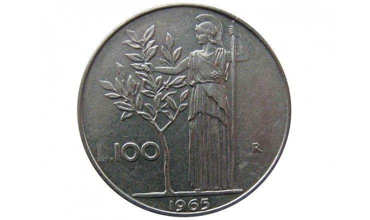 Италия 100 лир 1965 г.