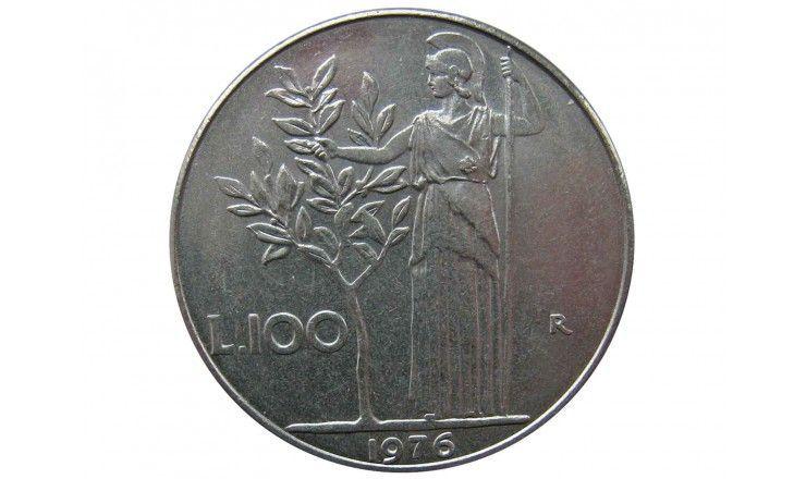Италия 100 лир 1976 г.