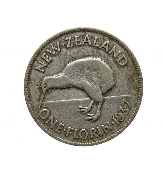 Новая Зеландия 1 флорин 1937 г.