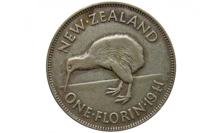 Новая Зеландия 1 флорин 1941 г.