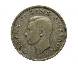 Новая Зеландия 1 флорин 1943 г.