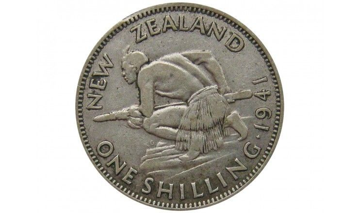 Новая Зеландия 1 шиллинг 1941 г.