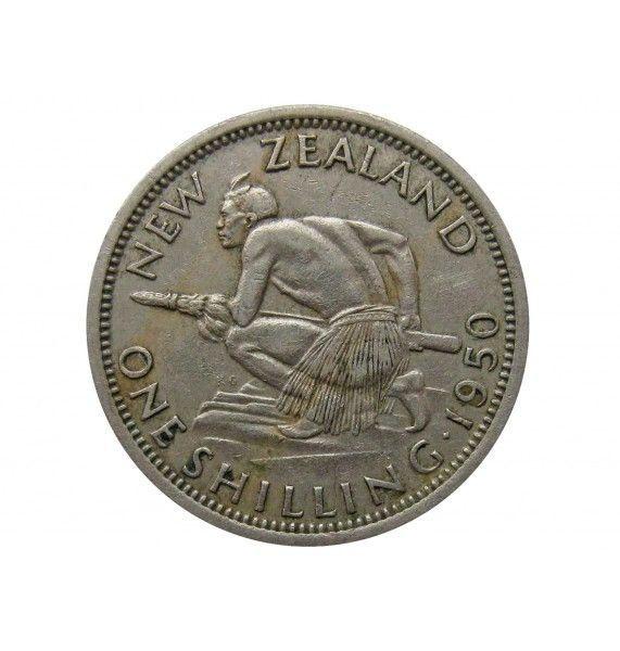 Новая Зеландия 1 шиллинг 1950 г.