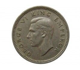 Новая Зеландия 3 пенса 1947 г.