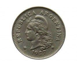 Аргентина 10 сентаво 1927 г.