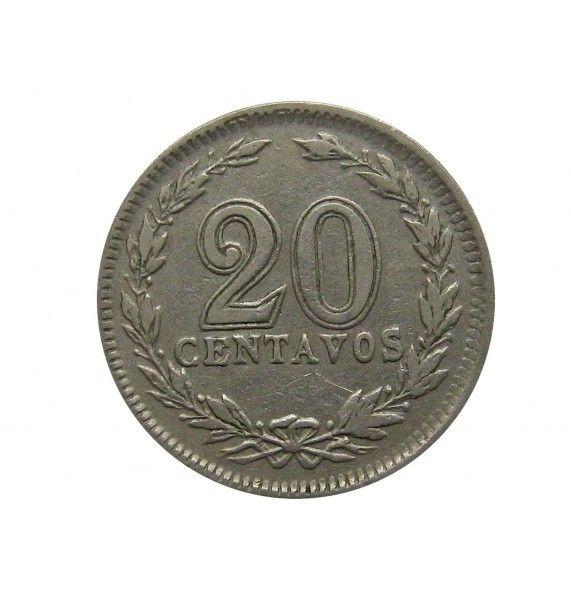 Аргентина 20 сентаво 1929 г.
