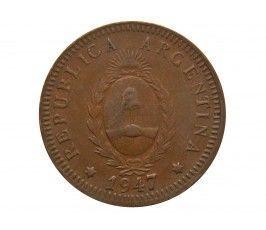 Аргентина 2 сентаво 1947 г.