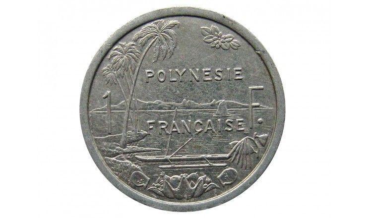 Французская Полинезия 1 франк 1985 г.