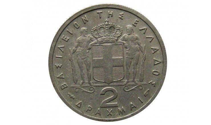 Греция 2 драхмы 1954 г.