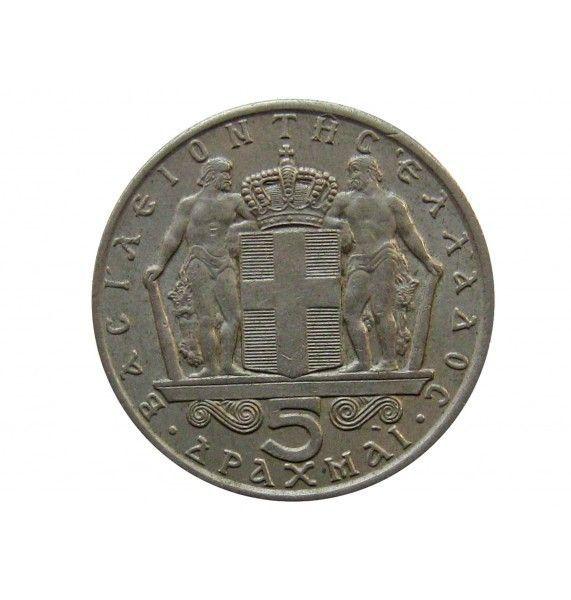 Греция 5 драхм 1966 г.