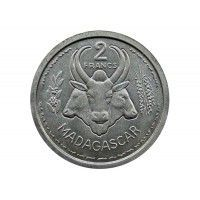 Мадагаскар 2 франка 1948 г.