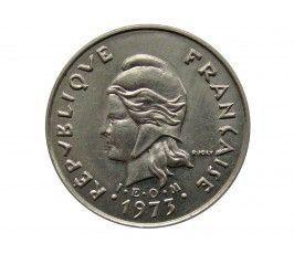 Новая Каледония 10 франков 1973 г.