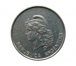 Аргентина 10 сентаво 1983 г.
