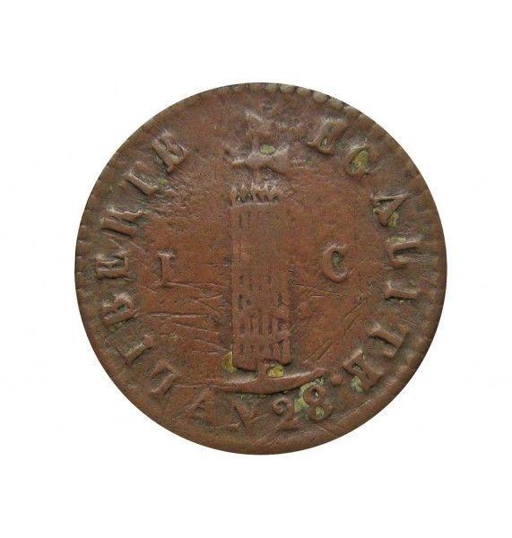 Гаити 1 сантим 1831 г.