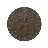 Гаити 1 сантим 1881 г.