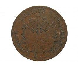 Гаити 2 сантима 1886 г.