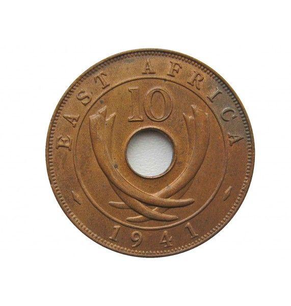 Британская Восточная Африка 10 центов 1941 г. I