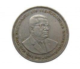 Маврикий 1 рупия 2004 г.
