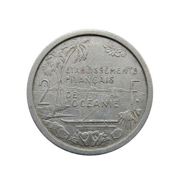 Французская Океания 2 франка 1949 г.