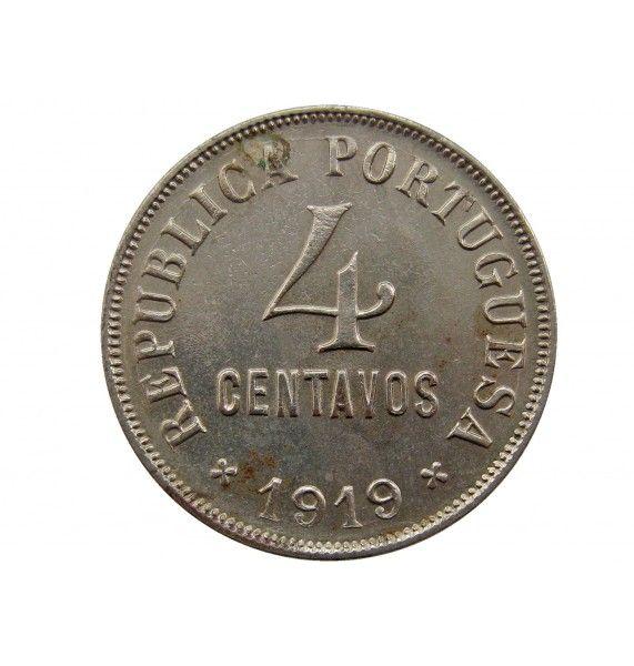 Португалия 4 сентаво 1919 г.
