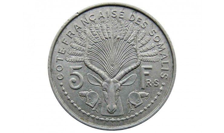 Французское Сомали 5 франков 1959 г.