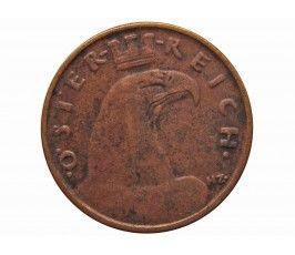 Австрия 1 грош 1932 г.