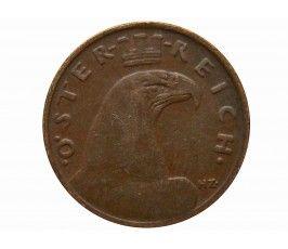 Австрия 1 грош 1934 г.