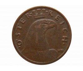 Австрия 1 грош 1935 г.