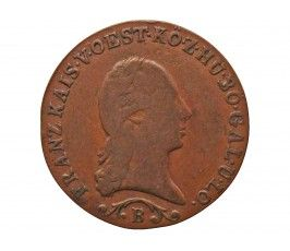 Австрия 1 крейцер 1812 г. B
