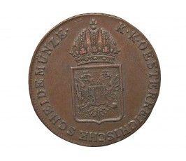 Австрия 1 крейцер 1816 г. B