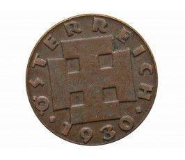 Австрия 2 гроша 1930 г.