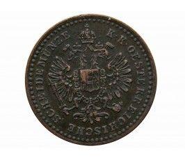 Австрия 5/10 крейцера 1861 г. B