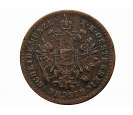 Австрия 5/10 крейцера 1866 г. A