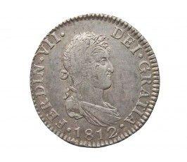 Испания 2 реала 1812 г. CI