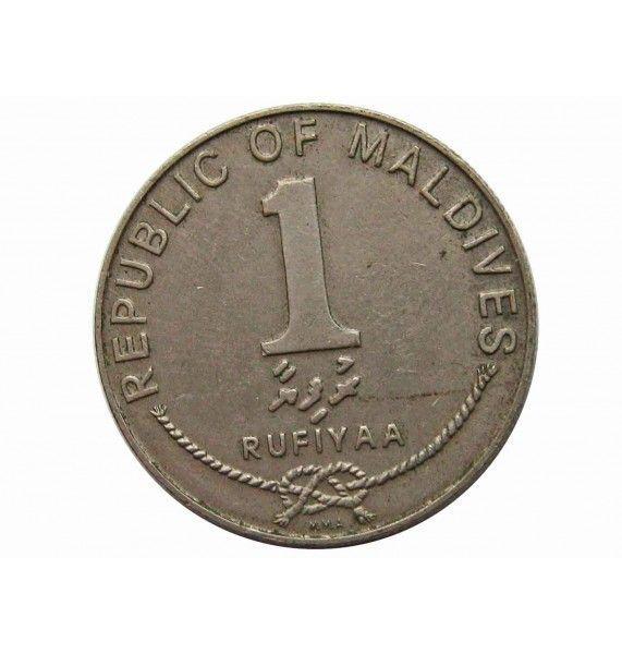 Мальдивы 1 руфия 1982 г.