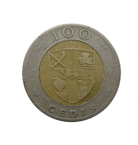 Гана 100 седи 1997 г.