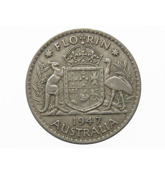Австралия 1 флорин 1947 г.