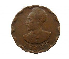 Эфиопия 25 центов 1936 г.