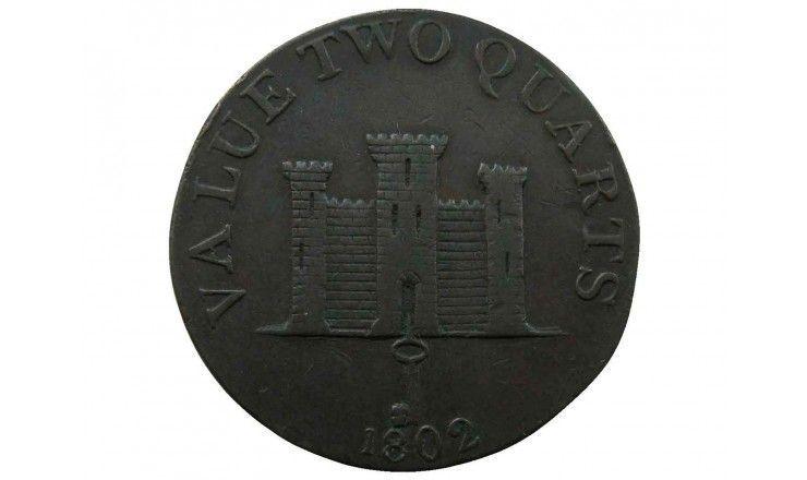 Гибралтар 2 кварта 1802 г.
