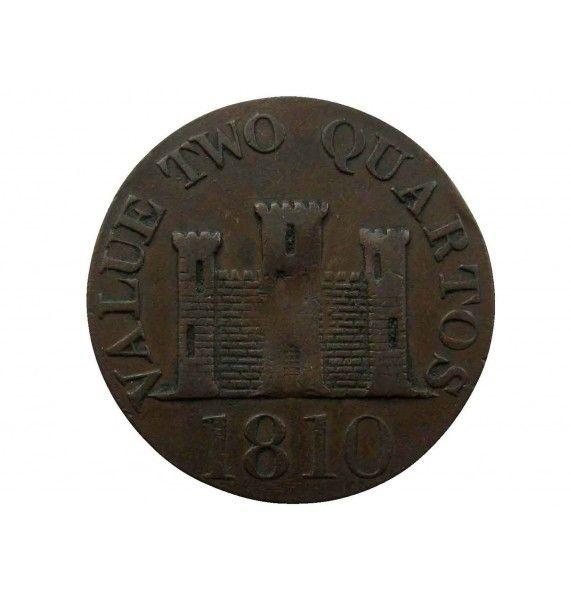 Гибралтар 2 кварта 1810 г.