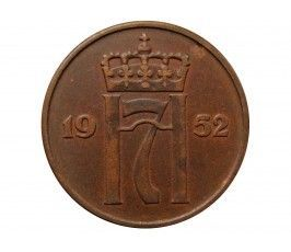 Норвегия 5 эре 1952 г.