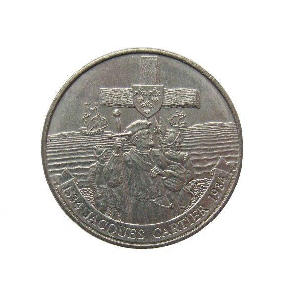 Канада 1 доллар 1984 г. (450 лет с момента открытия Гаспе)