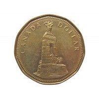 Канада 1 доллар 1994 г. (Национальный мемориал)
