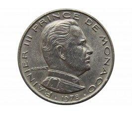 Монако 1/2 франка 1978 г.