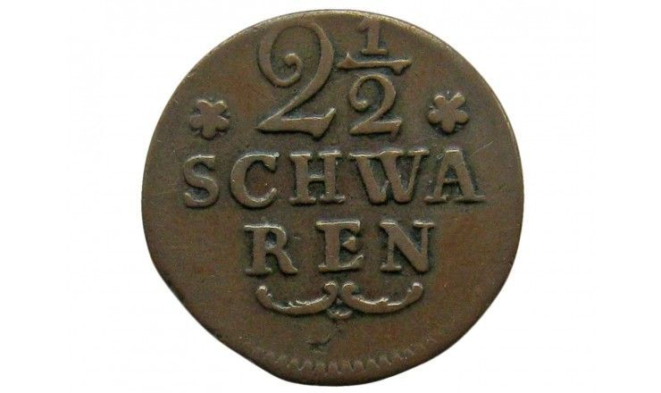Бремен 2 1/2  шварена 1802 г.